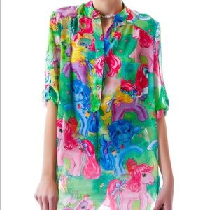 Iron Fist 'My Little Pony' Multicolored Top